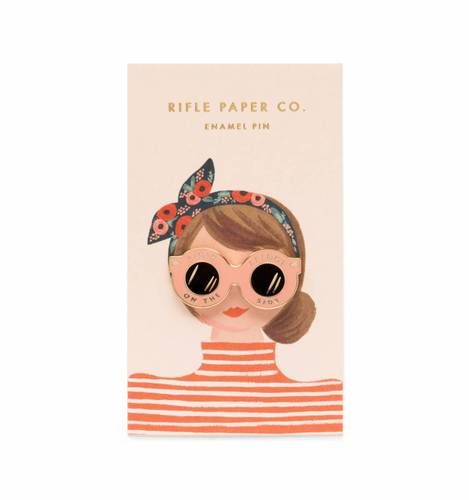 [Rifle Paper Co.] Sunglasses Enamel Pin