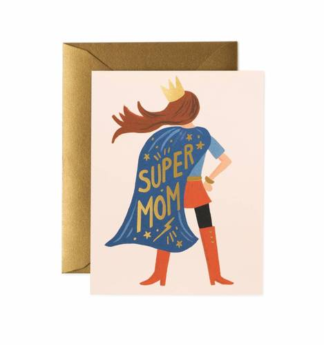 [Rifle Paper Co.] Super Mom Card