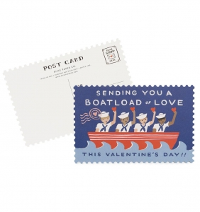[Rifle Paper Co.] Boatload of Love Postcards [10 postcards]