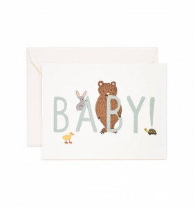 [Rifle Paper Co.] Baby! [Mint] Card