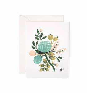 [Rifle Paper Co.] Blue Floral Card