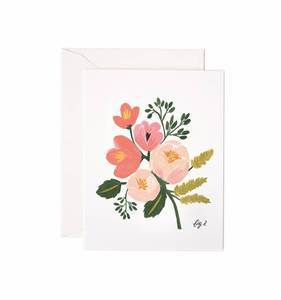 [Rifle Paper Co.] Peony Pink Floral Card