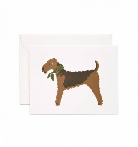 [Rifle Paper Co.] Airedale Card