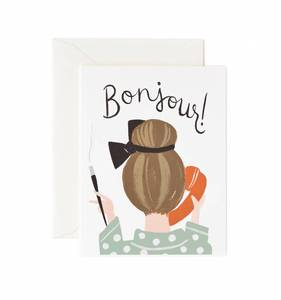 [Rifle Paper Co.] Bonjour Card