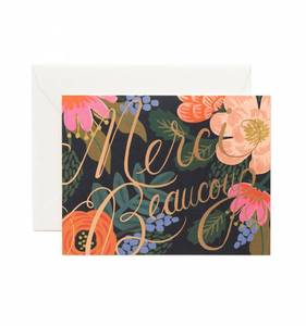 [Rifle Paper Co.] Bordeaux Thanks Card