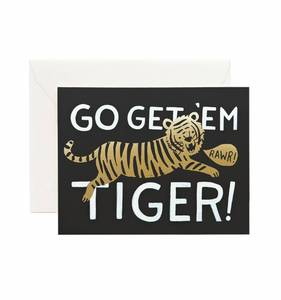 [Rifle Paper Co.] Go Get'em Tiger Card