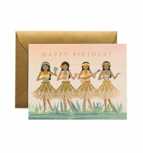 [Rifle Paper Co.] Hula Birthday Card