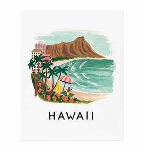[Rifle Paper Co.] Hawaii 11 x 14""
