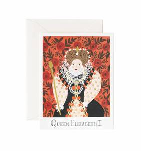 [Rifle Paper Co.] Queen Elizabeth I Card