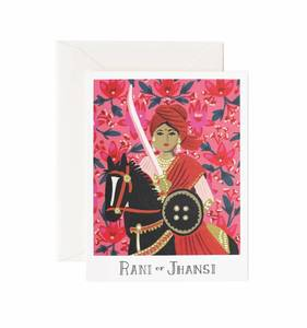 [Rifle Paper Co.] Rani Of Jhansi Card
