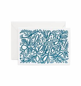[Rifle Paper Co.] Letterpress Thinking of You Card