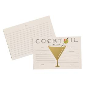 [Rifle Paper Co.] Cocktail Recipe Cards