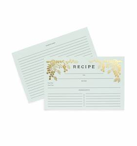 [Rifle Paper Co.] Golden Garden Recipe Card