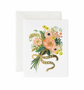 [Rifle Paper Co.] Best Wishes Bouquet Card