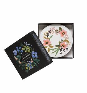 [Rifle Paper Co.] Herb Garden Coaster Set [8 coasters/ 4 design]