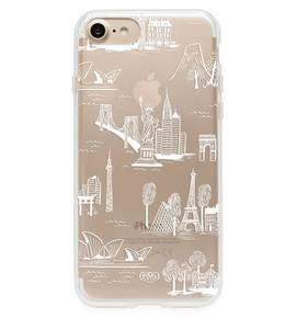 [Rifle Paper Co.] Clear City Toile iPhone Case For 7/7+ [Only]