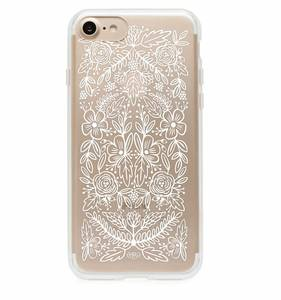 [Rifle Paper Co.] Clear Floral Lace iPhone Case (iPhone 7, 7+ Only)