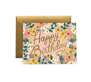 [Rifle Paper Co.] Rose Birthday Card
