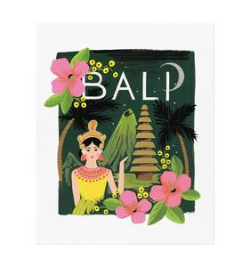 [Rifle Paper Co.] Bali 8 x 10""