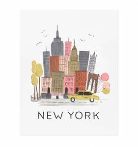 [Rifle Paper Co.] NYC 8 x 10""