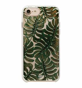 [Rifle Paper Co.] Clear Monstera iPhone Case (iPhone 6/6s/7/8, 6+/7+/8+, X/XS)