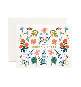 [Rifle Paper Co.] Wildwood Congrats Card
