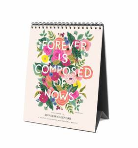 [Rifle Paper Co.] 2019 Inspirational Quote Desk Calendar