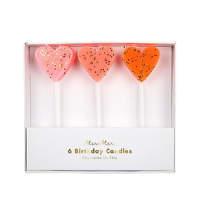 [Meri Meri] Heart Candles