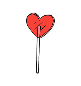 [Tattly] Heart Lolli Pairs