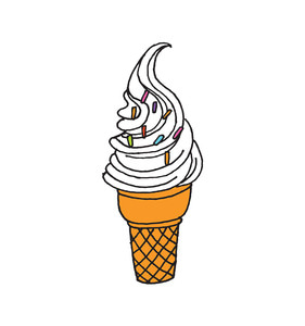 [Tattly] Soft Serve Pairs