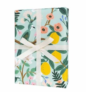 [Rifle Paper Co.] Shanghai Garden Wrapping Sheets [3 sheets]