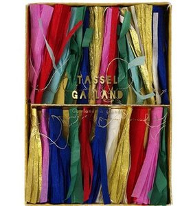 [Meri Meri] Multi Color Tassel Garland