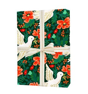 [Rifle Paper Co.] Peace Dove Wrapping Sheets [3 sheets]