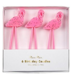 [Meri Meri] Flamingo Candles
