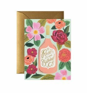 [Rifle Paper Co.] Rosé it's Your Birthday Card
